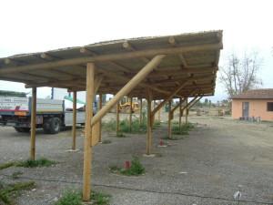 Carport in Canniccio Nostrale e Scopa